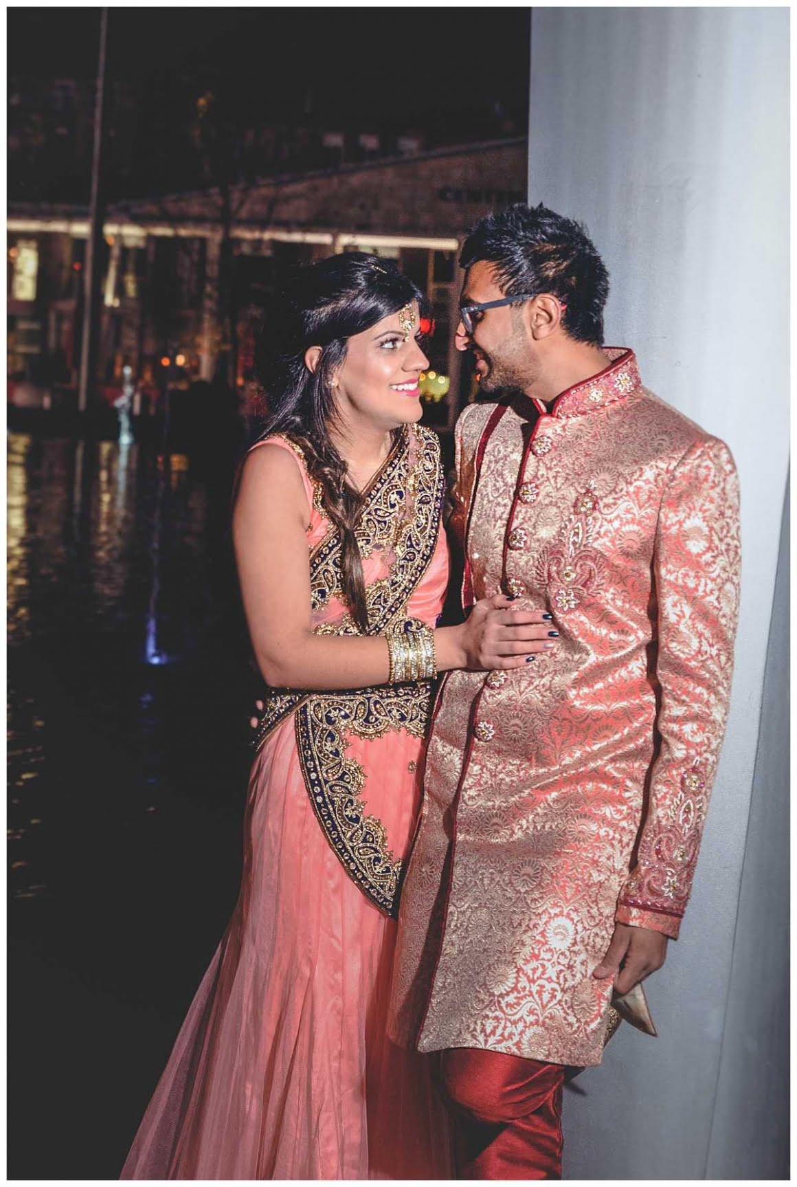 Indian Wedding shoot on Bradford City Square.