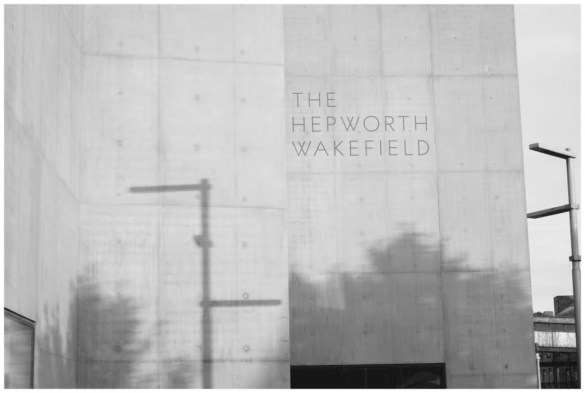 shadows on the, sign saying hepworth wakefield