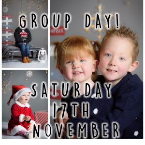 POP-UP CHRISTMAS SHOOTS 2018 GROUP DAY TIMES AND DEPOSITS SATURDAY 17TH NOVEMBER AT STANLEY METHODIST CHURCH