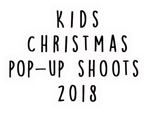 Kids Christmas Photography page banner