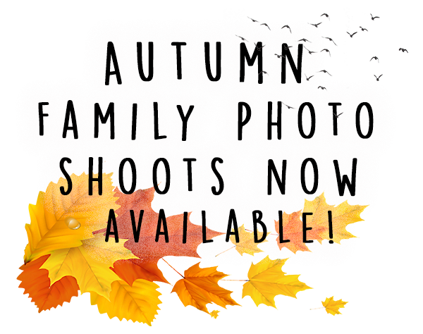 page banner saying autumn shoot
