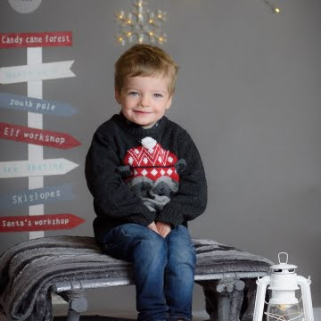 Kids Christmas Photography sample pictures