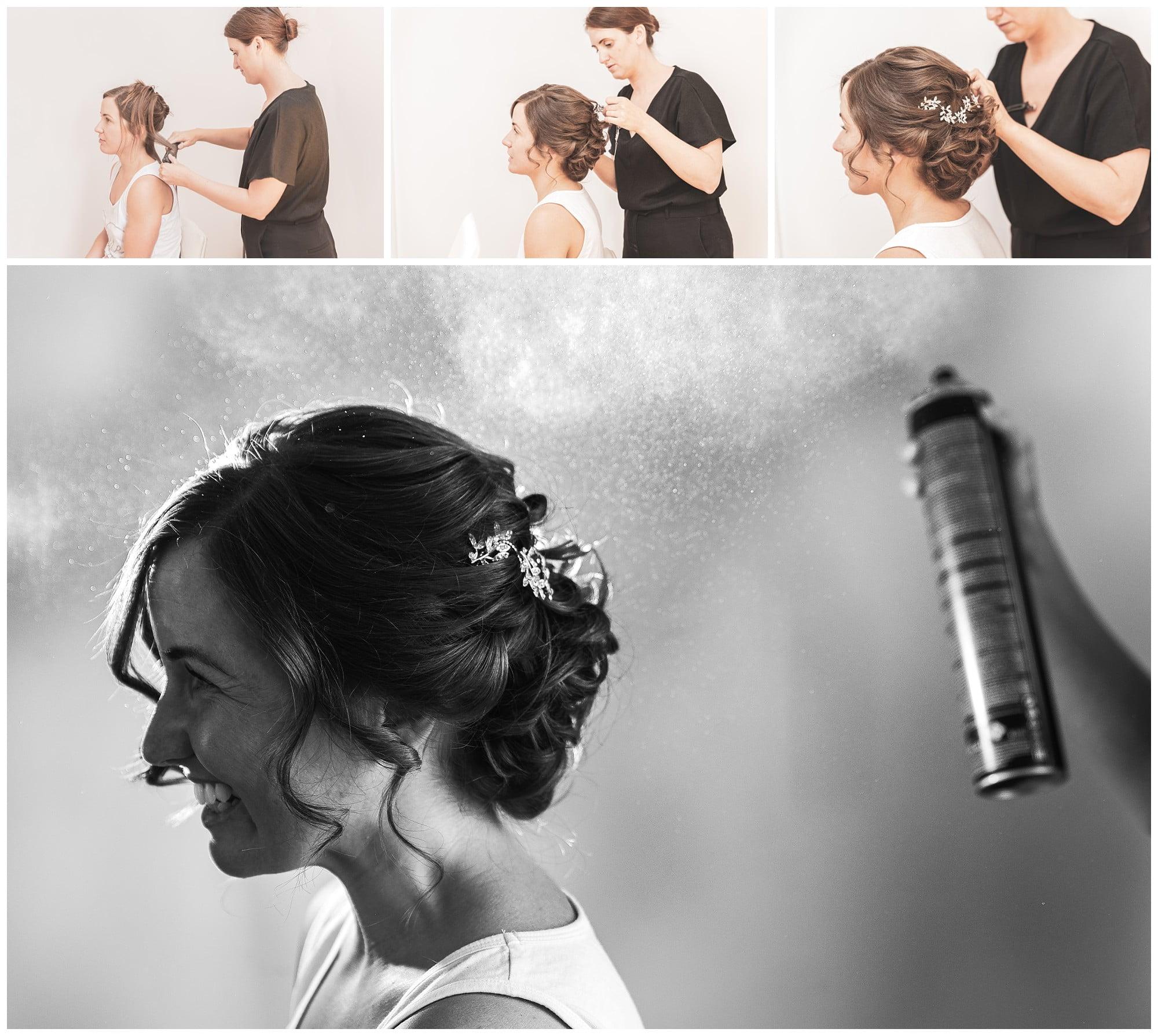 hairspray shot