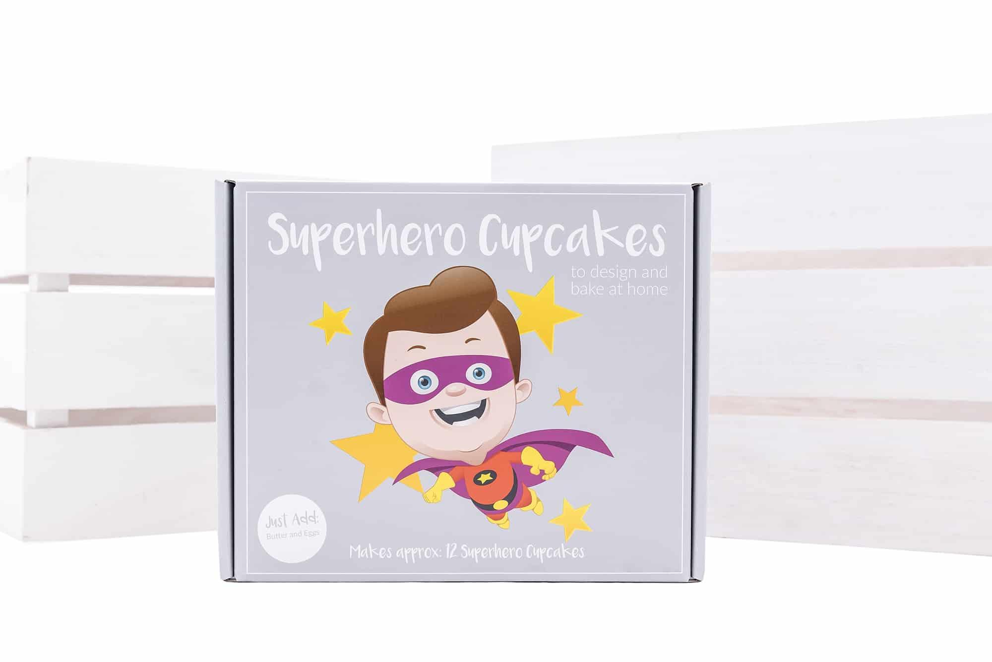 www.blossombakery.co.uk products i have photographed - superhero cake bake box
