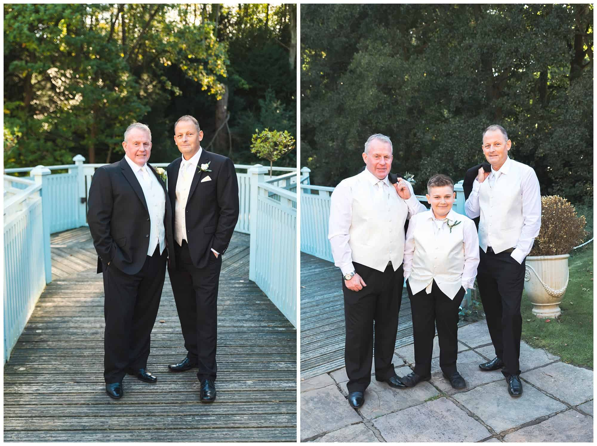 Whitley Hall Hotel Wedding - groomsmen