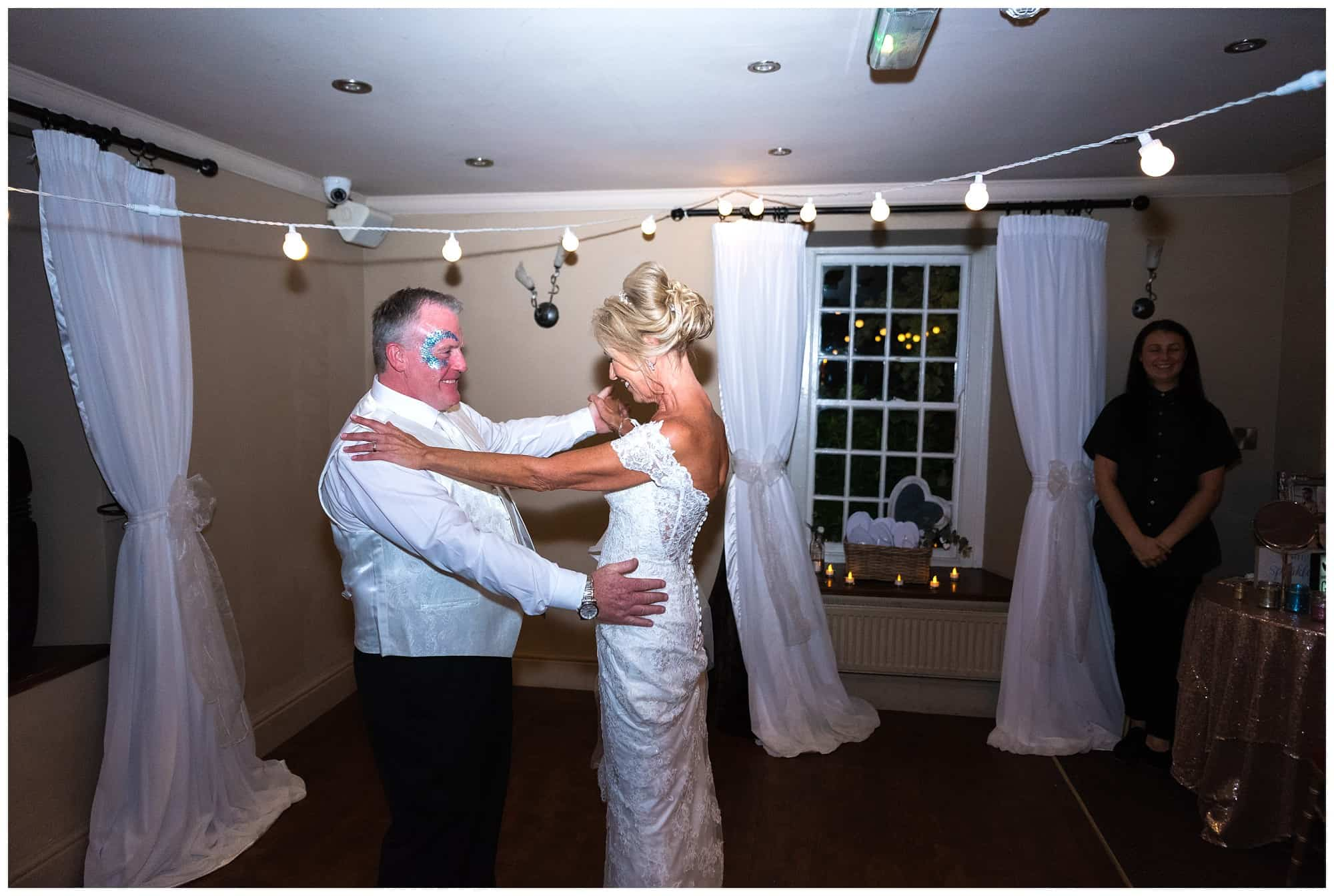 Whitley Hall Hotel Wedding - first dance shot
