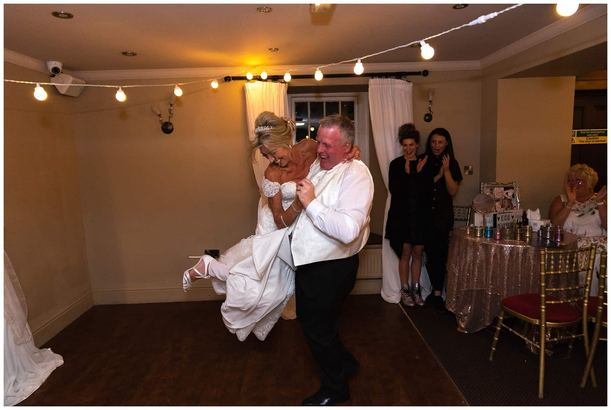 Whitley Hall Hotel Wedding - first dance shot 2