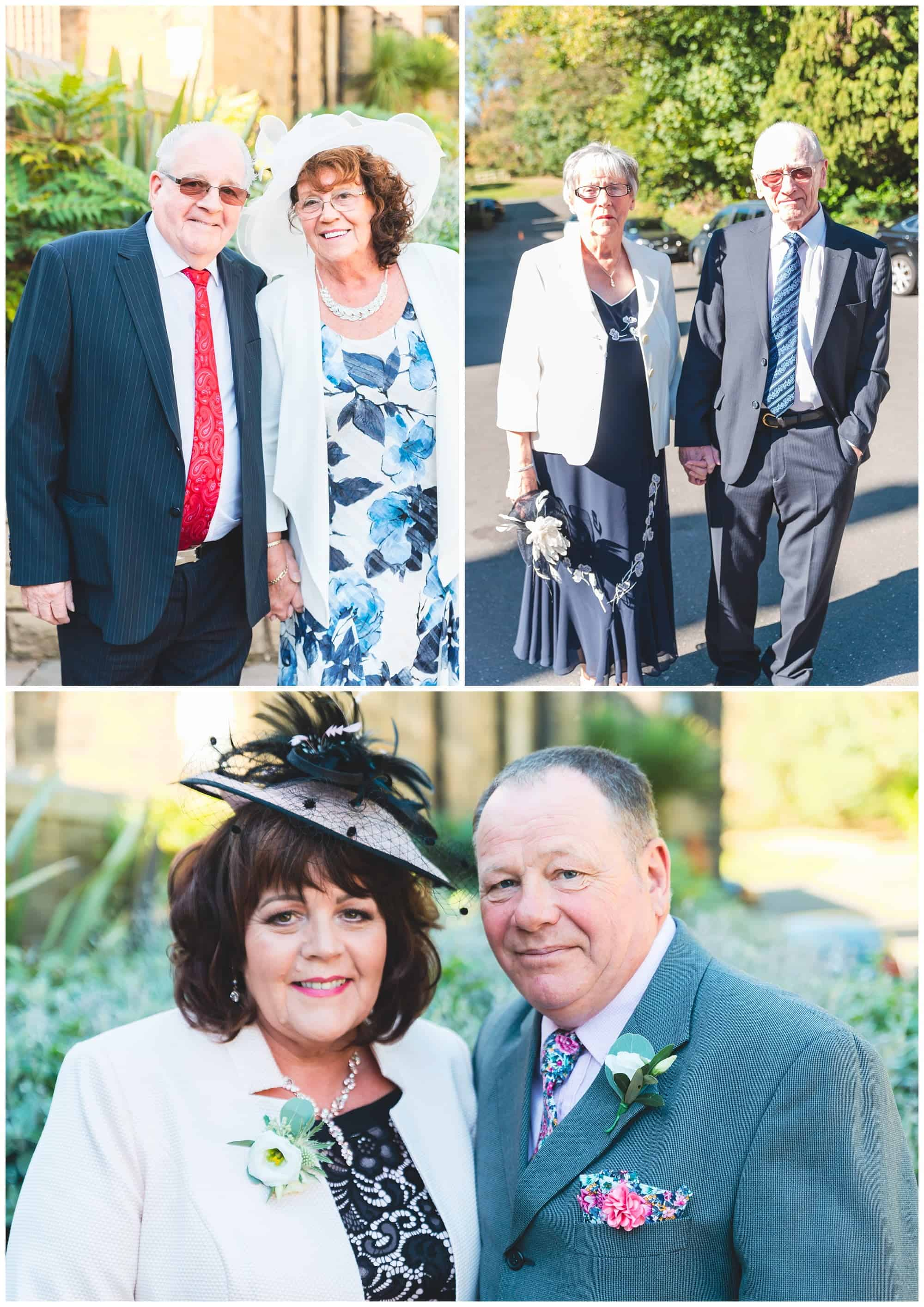 Whitley Hall Hotel Wedding - grooms and bride parents