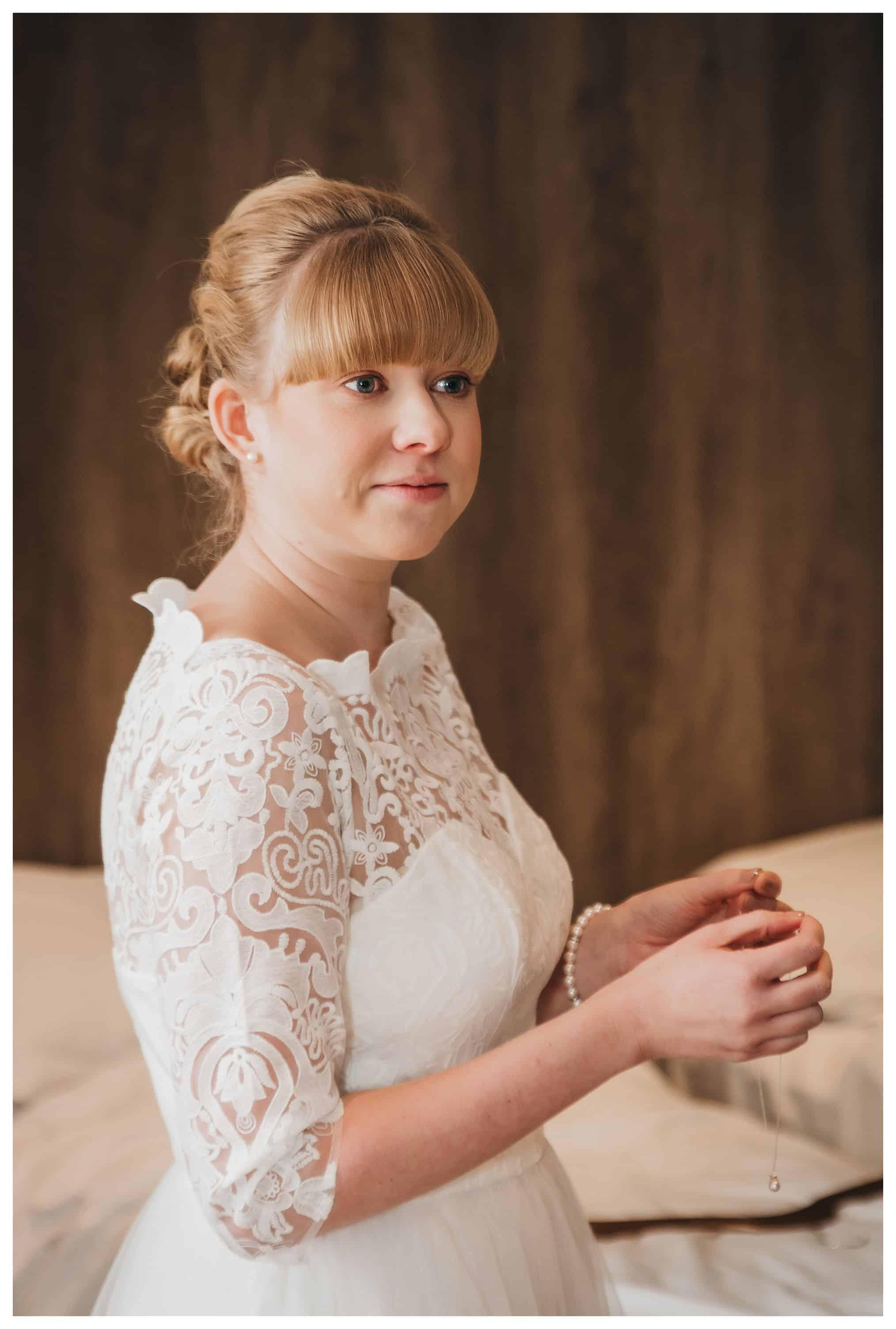 portrait a bride