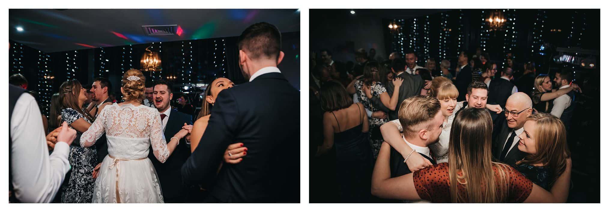 first dance bride and groom dancing