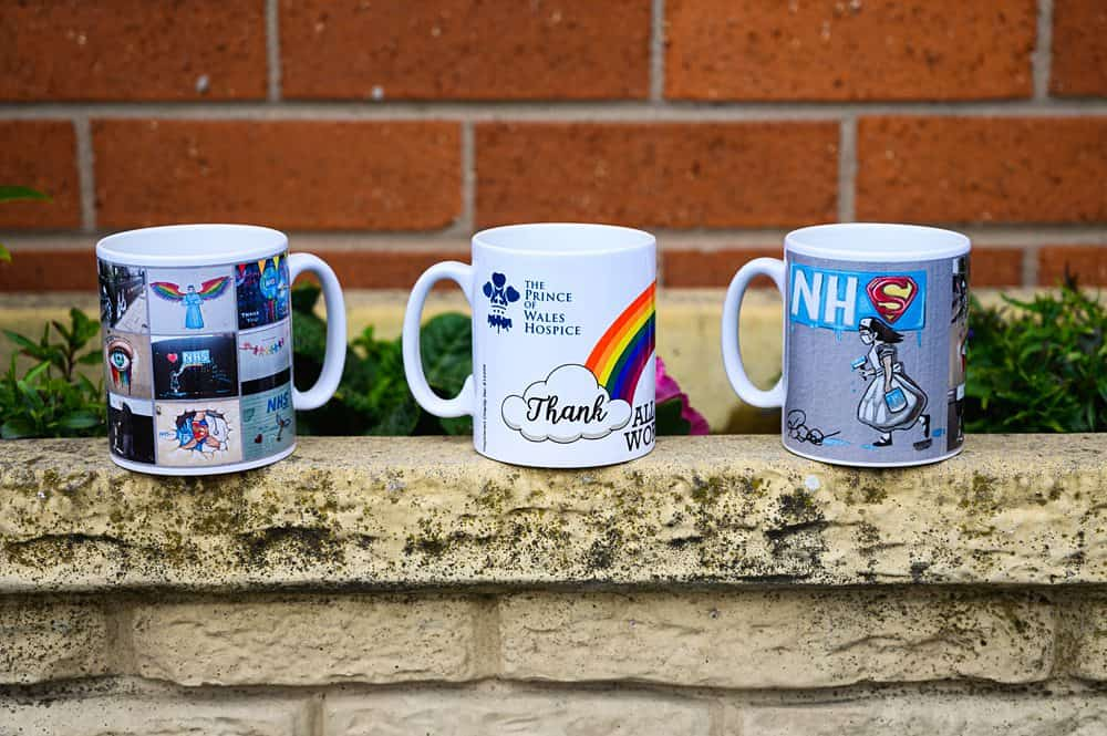 Official Image of the special edition fundraising mugs